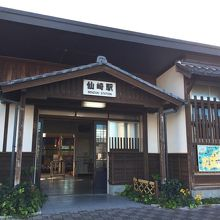 東萩→下関ルートで途中下車出来る仙崎駅