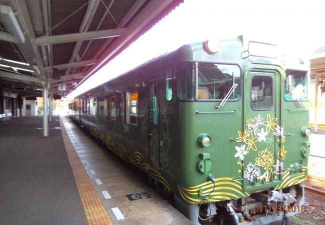 山口県の山陰線沿線を旅するならオススメの観光列車です!