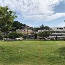 江の島 北緑地広場