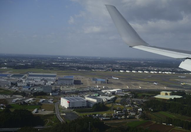 成田空港B滑走路アプローチ