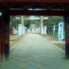 上野東照宮 水舎門