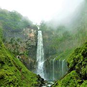新緑の頃に<華厳滝と華厳渓谷>