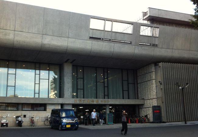 上野公園にある老舗音楽ホール