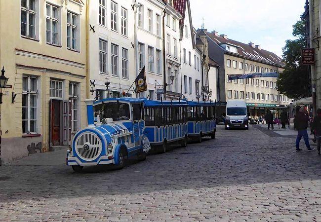 タリン旧市街を巡る便利な観光列車