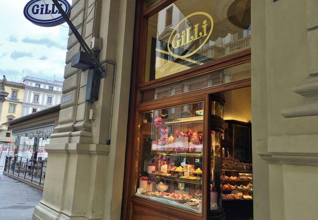 高級感漂うフィレンツェ最古の老舗カフェ