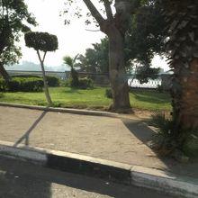 ナイル河沿い遊歩道
