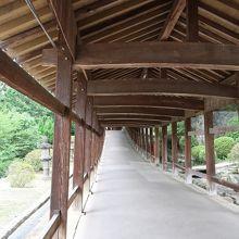 回廊 (吉備津神社)