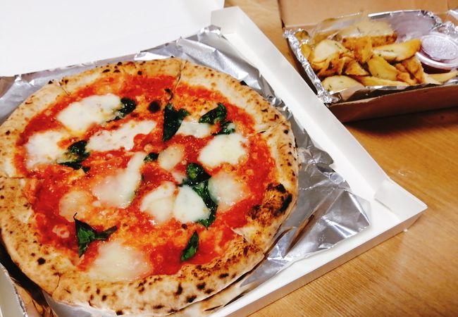 ピザがおいしかったです!