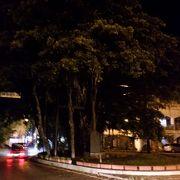 夜のヒンプンガジュマルの木も良かったです。