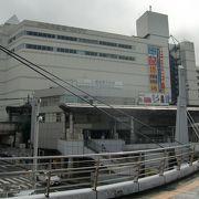 京浜急行横須賀中央駅隣接のショッピングモール