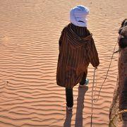 サハラのキャンプ場、砂漠ならば何処だって同じだって思っていない!?/選び方のポイント、あるんです♪