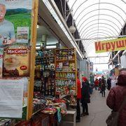 ロシアのありふれた市場