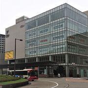 金沢駅前の大型ショッピングモール