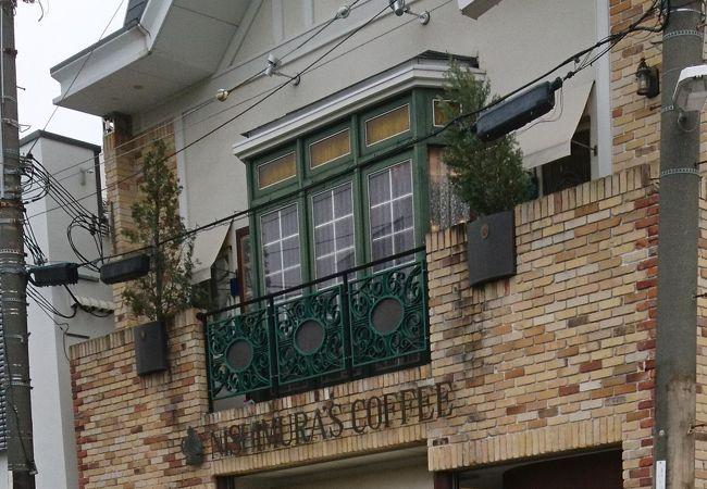駅前にある落ち着く喫茶店