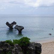 古宇利島の北側の隠しビーチでした。