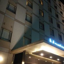 本ホテルの外観です。