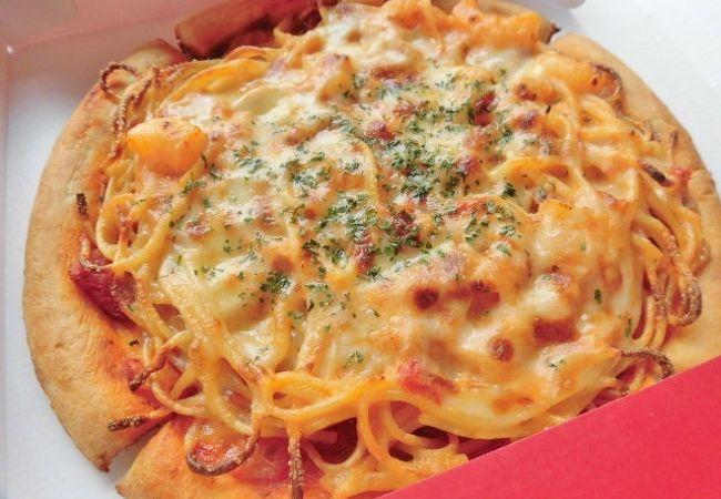 珍しいけど美味しいピザを楽しめるレストラン