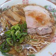 尾道駅降りてすぐの味麺で尾道ラーメン
