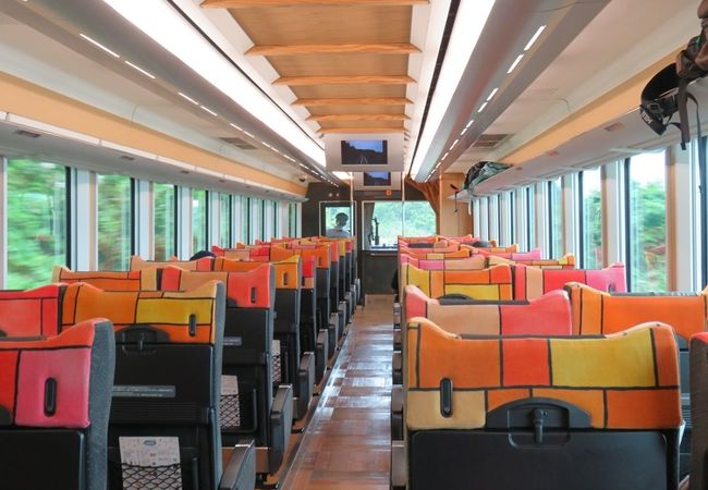 快速列車なので必要なのは乗車券のほか指定席券です。
