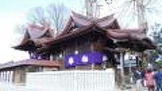 聖神社本殿 拝殿