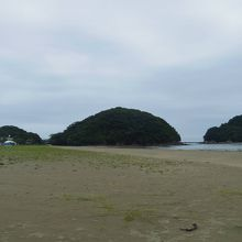 白浜海水浴場(高知県東洋町)