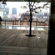 東京駅・丸の内駅舎を一望