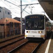 大阪ミナミでレトロな電車を楽しもう