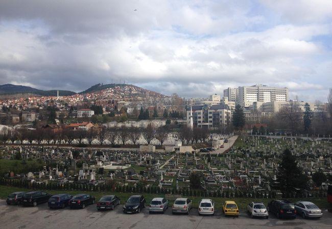 サラエボの墓地