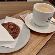 アールグレイとショコラクッキー