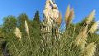 バイロン卿の像