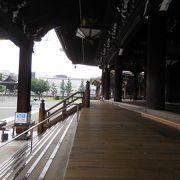 東本願寺の中心に建つ建物