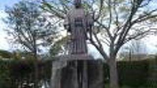 広田弘毅銅像