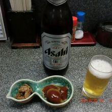 とりあえず、ビールで乾杯