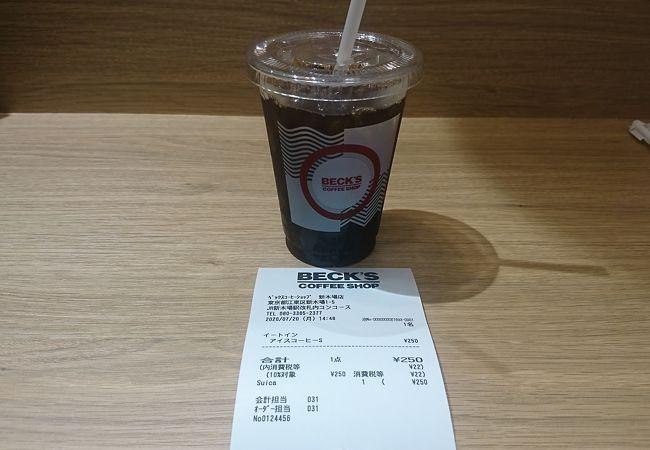 BECK'S COFFEE SHOP 新木場店