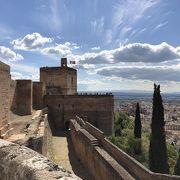 アルハンブラ宮殿内の最も古い場所