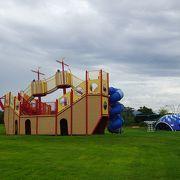 キャンプ場や温泉施設がある総合公園 (天神岬スポーツ公園)