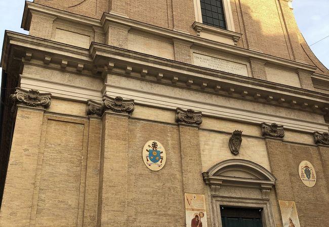サンタンドレア デッレ フラッテ教会