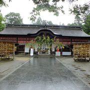 伊達正宗が作った神社のようです。