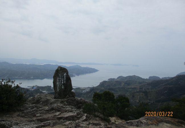 宇和海を見下ろす絶景の峠