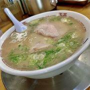 シャバシャバ豚骨スープで美味しくない!
