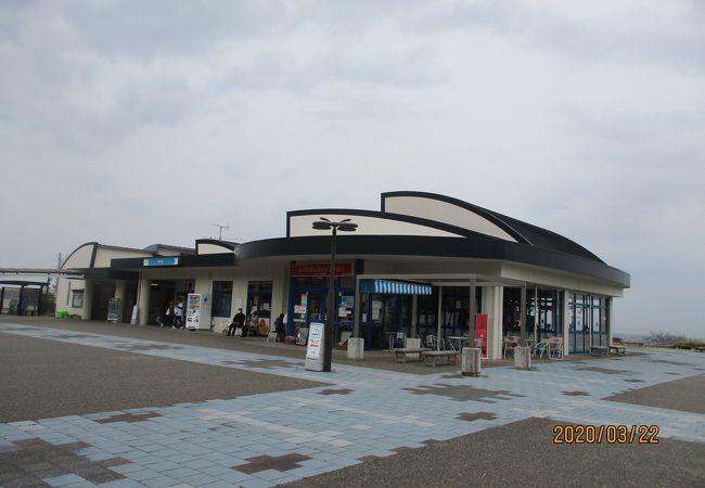 松山自動車道のサービスエリア