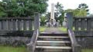 大久保利通の墓