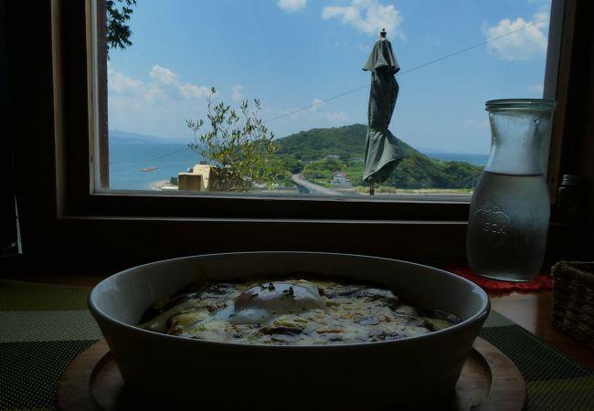 眺めのいいカフェ