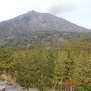 一度は見るべき、50万都市に近接する豪壮な活火山です。