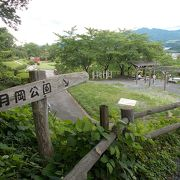 かみのやま温泉駅から西のエリアにあります。