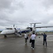 北陸一の空港