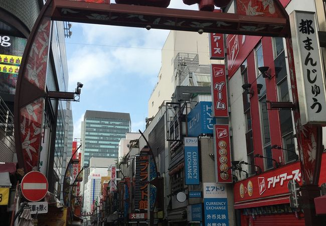 上野中通り商店街