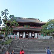 華厳の滝・日光山内散策で輪王寺三仏堂に寄りました
