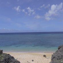 島沖浜です。