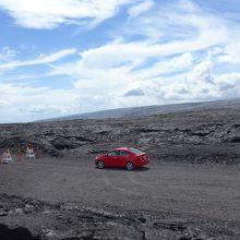 カラパナ溶岩見学エリア